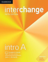 Jack C Richards-Interchange Intro A Student`S Book With Online Self-St BOOKH NEW
