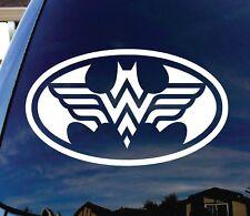 "Batman and Wonder Woman 5"" Logo Decal for Car,Window,Door,Laptop,iPad,Sticker"
