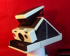 Polaroid SX-70 Land Camera Model 2, schöner Zustand, aber Fokusring klemmt!