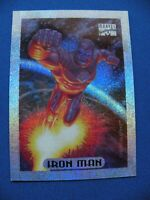 1994 Marvel limited edition superhero Holofoil Ironman #5 of 10 $1 S&H
