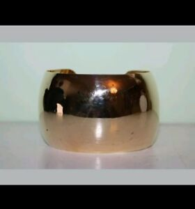 STUNNING MEXICAN GOLD TONE BANGLE BRONZE **SALE**