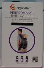 New! 100% Authentic! Ergobaby Performance Collection Carrier, Charcoal Grey