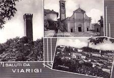 VIARIGI (ASTI) - SALUTI DA VIARIGI - RARA CARTOLINA - ANNI '40