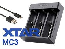Xtar MC3 – kompaktes Vier-Schacht Li-Ion-Ladegerät