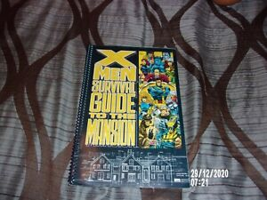 X-MEN SURVIVAL GUIDE TO THE MANSION STRATEGY BOOK