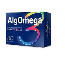 ALGOMEGA 3 60 VEGICAPS NUTRIGEA INTEGRATORE OMEGA3 PER SISTEMA CARDIOVASCOLARE