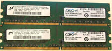 2GB (2 X 1GB) Crucial CT12864AA53E.16FF Memory 1GB DDR2 533MHz CL4  PC2-4200