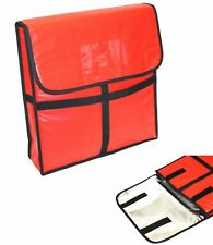 12V Pizzabag Warmbag 35x35x4 Pizza Box Catering Thermotasche Heiztasche Heated