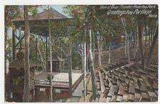 USA, Out-Door Theater, Riverton Park, Portland, Maine 1905 Postcard, B225