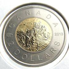 2013 Specimen Canada 2 Dollar Toonie Black Bears Uncirculated Canadian Coin P004