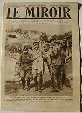 LE MIROIR n°108 ¤ 19/12/1915 ¤ PARLEMENTAIRE TURC AU QG ANGLAIS DE GABA-TEPE