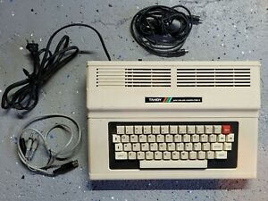 Tandy Color Computer 2 64k with tape cable and TV cables TESTED WORKING
