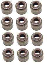 Mazda 323 MX-6 Set of 12 Engine Valve Stem Oil Seals Stone B630 10 155