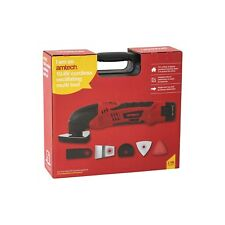 10.8v Li-Ion CORDLESS OSCILLATING MULTI TOOL RECHARGEABLE VARIABLE SPEED AMTECH