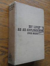 MY LIFE AS AN EXPLORER SVEN HEDIN 1925