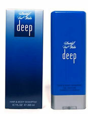 Cool Water Deep for Men Davidoff Hair & Body Shampoo 6.7 oz - New in Sealed Box