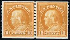 US Sc 497 Rotary Coil Pair LH Original Gum VF