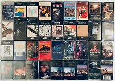 You Pick Cassette Tapes: Classic Rock, 60s, 70s, Doors, Pink Floyd, Led Zeppelin