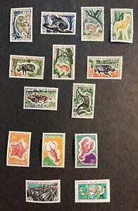Ivory Coast 1963-71 F-VF Mint Hinged Catalogs $33