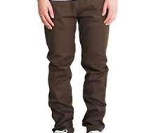 Matix Manderson Trabajador Pantalones (34) Marrón Oscuro