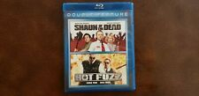 Shaun Of The Dead (2004) & Hot Fuzz (2007) Blu-ray Double Feature Simon Pegg
