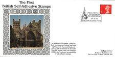 GB 1993 (19 Ottobre) primo francobollo autoadesivo Britannico BENHAM BLCS SP1 FDC