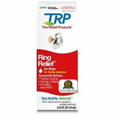 Ring Relief Homeopathic Ear Drops Treatment Tinnitus Ringing Buzzing Noise Pain