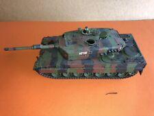 VINTAGE tamiya 1/35 German Main  Battle Tank  Europe Camouflage Green built Up