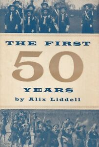The First 50 years by Alix Liddell (Girl Guiding)