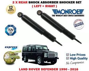 FOR LAND ROVER DEFENDER 4X4 1990-2016 NEW 2 X REAR SHOCK ABSORBER SHOCKER SET
