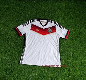 GERMANY NATIONAL TEAM 2014 2015 HOME FOOTBALL SOCCER SHIRT JERSEY MEN XL