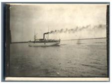 Sweden, Stockholm, Transport ship  vintage silver print Tirage argentique  9