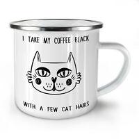 Cat Love NEW Enamel Tea Mug 10 oz | Wellcoda