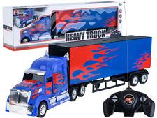 Groß RC Ferngesteuertes LKW Lastwagen mit Anhänger - 58 cm 27 MHz fernbedienung