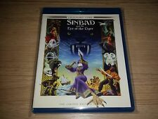 Sinbad and the Eye of the Tiger (Blu-ray) Twilight Time Signed by Patrick Wayne