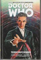 "Doctor Who Hardcover Comic Book #1 ""Terrorformer""  Titan Books 2015"