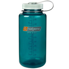 Nalgene Tritan Wide Mouth Water Bottle - 32 oz. - Trout Green/Gray