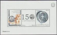 """2012 ITALIA """"150° ANNIVERSARIO UNIFICAZIONE MONETARIA"""" FOGLIETTO NUOVO"""