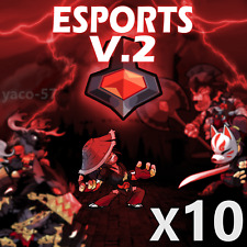 Brawlhalla x10 Esports Colors V2 Codes, 400+ Reviews, Quick Delivery!