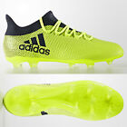 SALE adidas X 17.2 FG Mens Football Boots Narrow Fit Yellow £110 SIZE 9 9.5