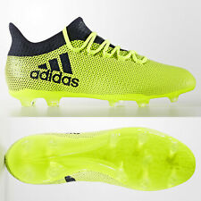 b6b6a5694 adidas X 17.2 FG Mens Football Boots Firm Ground Yellow RRP £110 ALL SIZES 6
