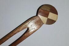 Hair Stick/ Hair Pin/Hair Clip Women Cute Prong Hair Wooden  Pin Fork Pick