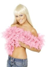 20s Fancy Dress Feather Boa Pink Hen Party 2 Yard 1920s Boa New by Smiffys