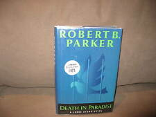 Death In Paradise by Robert B. Parker, Signed Copy, 1st Edition 2001 Very Good