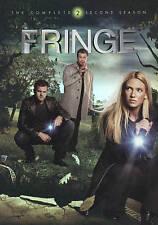 Fringe: The Complete Second Season (DVD, 2010, 6-Disc Set) New & Sealed