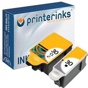 30XL Black & Colour (8039745) Compatible Ink for Kodak ESP C110 C315 - 2 Pack