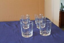 More details for 6 vintage pasabahce glass whiskey tumblers