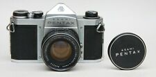 ASAHI PENTAX S1A BODY FOR SPARES OR REPAIR COMPLETE WITH 50mm f2 SUPER TAKUMAR