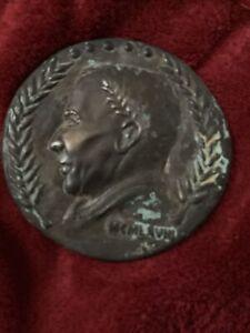 Frank Sinatra Bronze Medal Invitation 1968 Inaugural Performance Caesars Palace