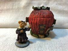 Boyds Bear Route 33 1/3 Miss Macintosh School of Thought Figurine Village 19904